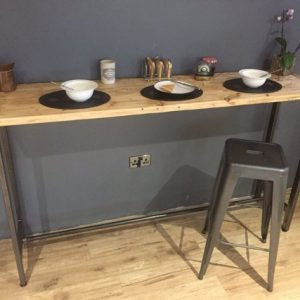 Breakfast bar table