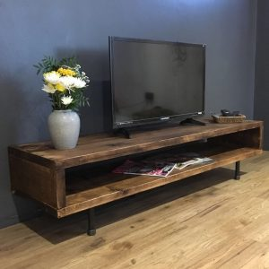 Reclaimed Wood TV Stand/Cabinet 37CM High