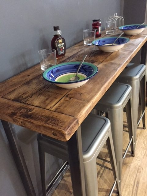 Bespoke breakfast bar